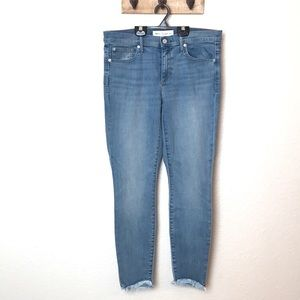 Gap True Skinny Ankle Jeans.